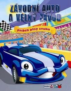 Obrázok Závodní auto a velký závod