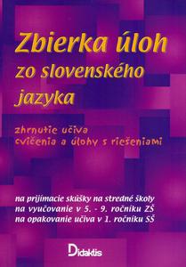 Obrázok Zbierka úloh zo slovenského jazyka