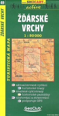 Obrázok Žďárské vrchy 1:50 000