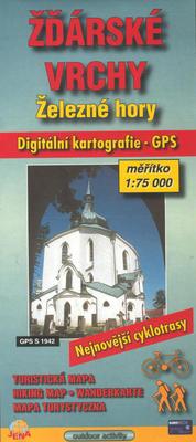 Obrázok Žďarské vrchy 1:75T lyžařs.map