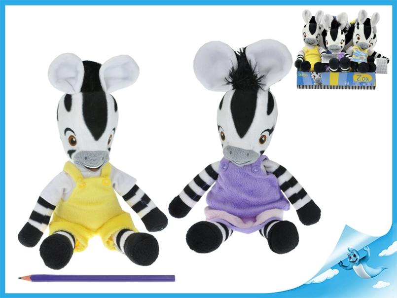 Zebra ZOU plyšová postavička