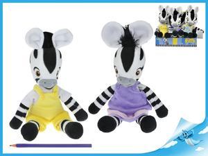 Obrázok Zebra ZOU plyšová postavička 6 ks v Boxu
