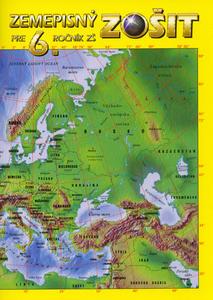 Obrázok Zemepisný zošit pre 6. ročník ZŠ