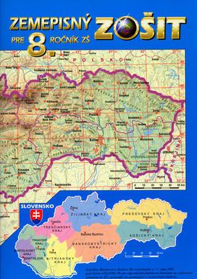Obrázok Zemepisný zošit pre 8. ročník ZŠ