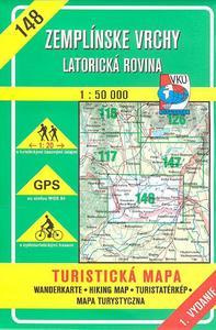 Obrázok Zemplínské vrchy  Latorická rovina 1 : 50 000