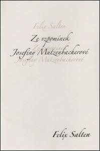 Obrázok Ze vzpomínek Josefiny Mutzenbacherové