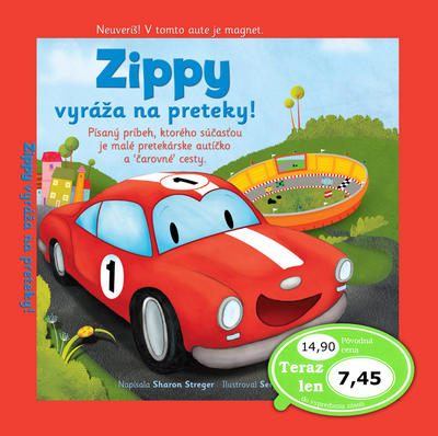 Obrázok Zippy vyráža na preteky!