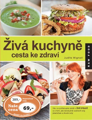 Obrázok Živá kuchyně cesta ke zdraví (RAW FOOD)