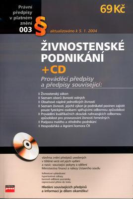 Obrázok Živnostenské podnikání + CD