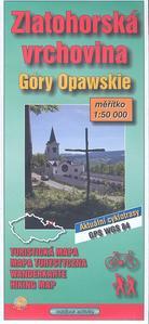 Obrázok Zlatohorská vrchovina 1:50 000