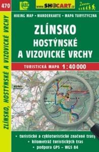 Obrázok Zlínsko, Hostýnské a Vizovické vrchy 1:40 000