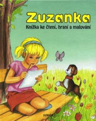 Obrázok Zuzanka (4) Knížka ke čtení,