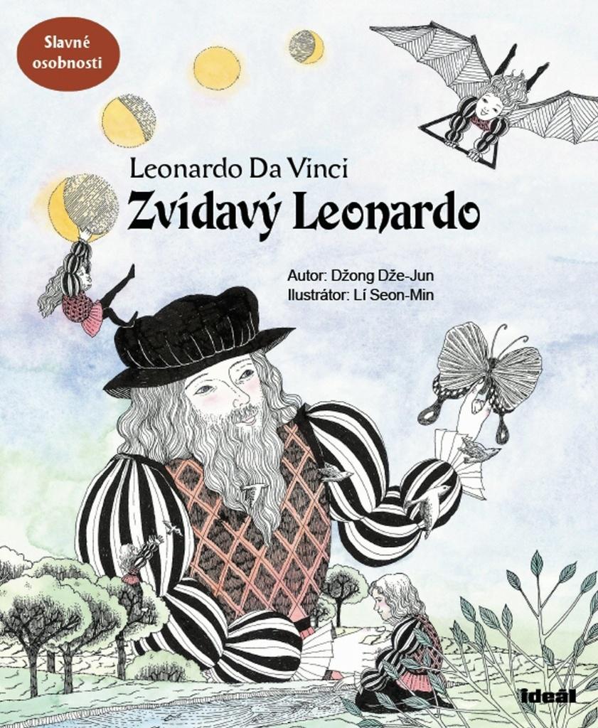 Zvídavý Leonardo (Leonardo Da Vinci) - Džong Dže-Jun