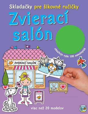 Obrázok Zvierací salón Skladačky pre šikovné ručičky