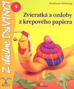Obrázok Zvieratká a ozdoby z krepového papiera