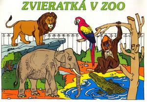 Obrázok Zvieratka v ZOO - omalovánka