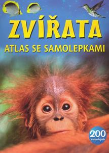 Obrázok Zvířata atlas se samolepkami