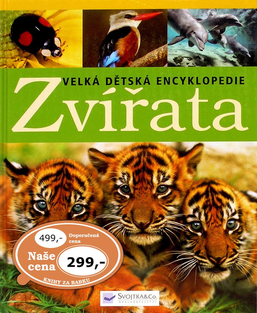 Zvířata Velká dětská encyklopedie