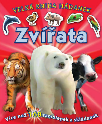 Obrázok Zvířata Velká kniha hádanek