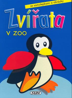 Zvířata v zoo Tučňák