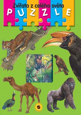 Obrázok Zvířata z celého světa Puzzle