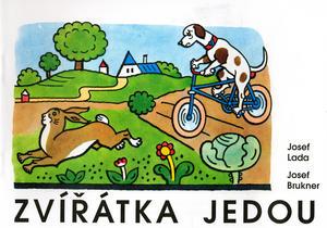 Obrázok Zvířátka jedou - Josef Lada - omalovánka