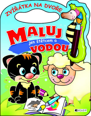 Obrázok Zvířátka na dvoře Maluj jen štětcem a vodou!