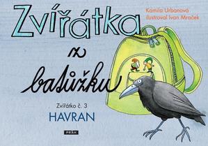 Obrázok Zvířátka z batůžku Zvířátko č. 3 Havran