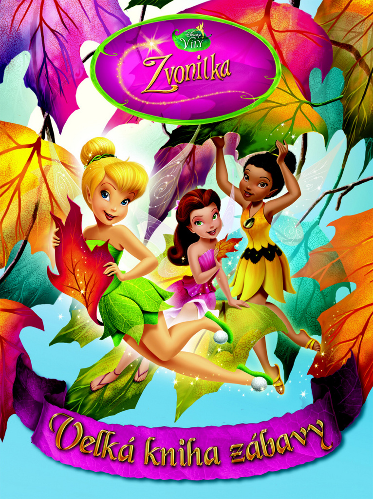 Zvonilka Velká kniha zábavy - Walt Disney