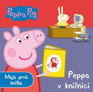 Obrázok Peppa Pig Peppa v knižnici