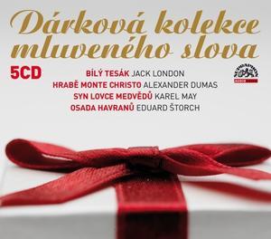Obrázok Dárková kolekce mluveného slova (5CD)