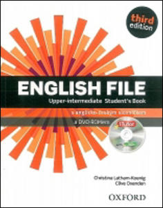 Obrázok English File Third Edition Upper Intermediate Student´s Book