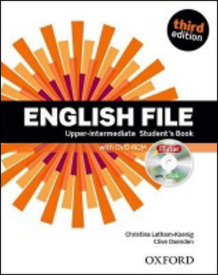 Obrázok English File Third Edition Upper Intermediate Student´s Book with iTutor DVD-ROM