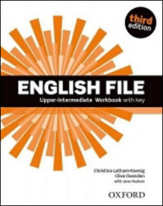 Obrázok English File Third Edition Upper Intermediate Workbook with Answer Key
