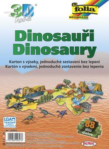 Obrázok 3D model Dinosauři