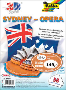 Obrázok 3D model Sydney – Opera