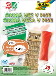 Obrázok 3D model Šikmá věž v Pise