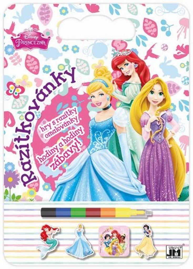 Razítkovánky Disney Princezny