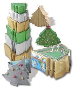 Obrázok Dárkové krabičky ve tvaru stromečku 6 kusů