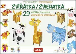 Obrázok Vystřihovánky/Vystrihovačky Zvířátka/Zvieratká