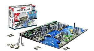 Obrázok 4D City Puzzle Hong Kong