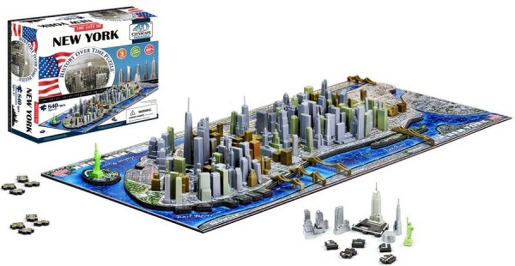 4D City Puzzle New York