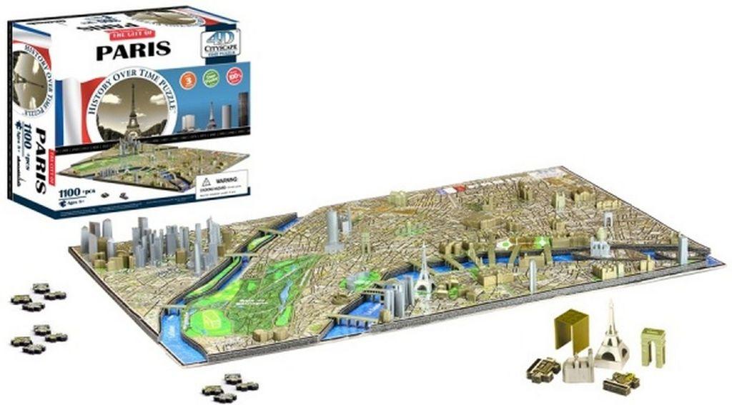4D City Puzzle Paříž