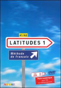 Obrázok Komplet 4ks Latitudes 1 učebnice + pracovní sešit + příručka učitele + DVD