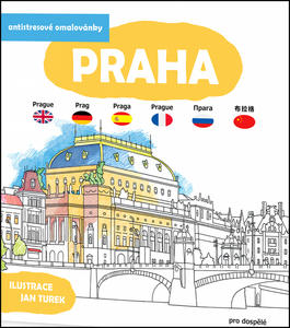 Obrázok Antistresové omalovánky Praha