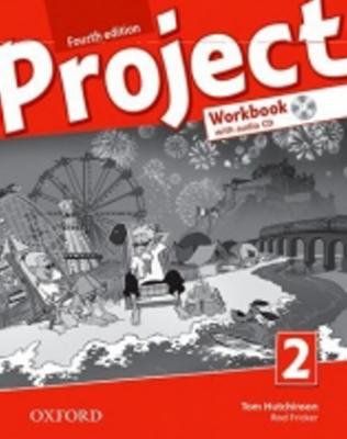 Obrázok Project 2 Fourth Edition Workbook with Audio CD and Online Practice