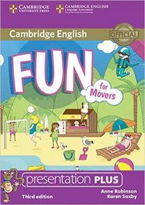 Obrázok Fun for Movers Presentation Plus