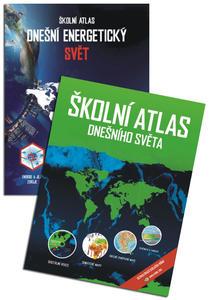 Obrázok Komplet Školní atlas dnešního světa + Školní atlas Dnešní energetický svět