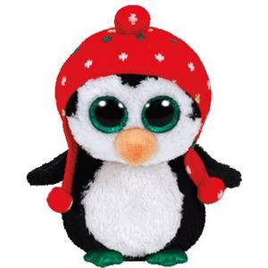 Obrázok Plyš očka střední tučňák s čepicí