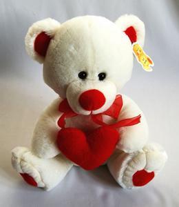 Obrázok Medvídek se srdcem 20cm